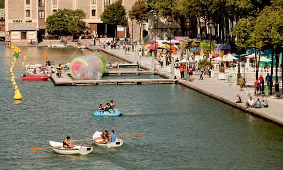 paris plages boats