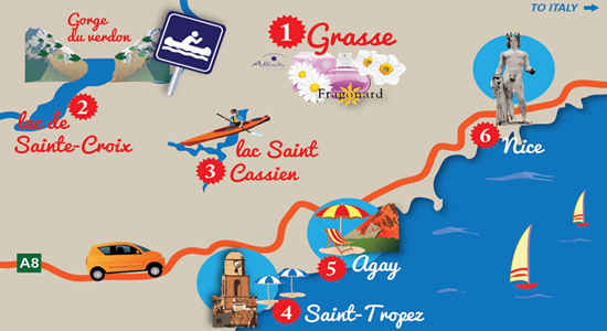 Places To Go In Southern France