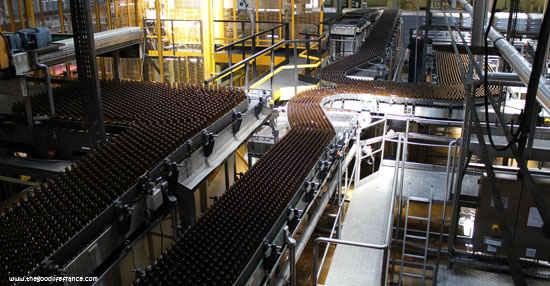 brasserie de saint omer production line
