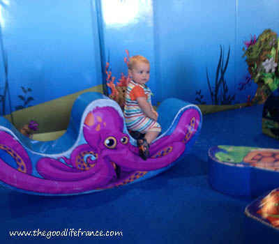 DFDS Seaways childrens play area
