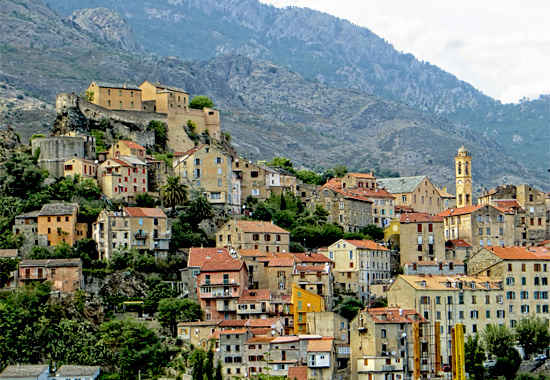 houses in central corsica