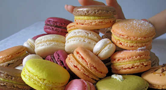 macarons of france