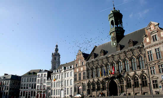 Mons Belgium the first and the last