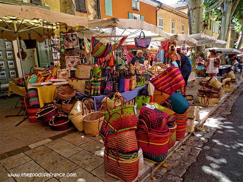 cotignac market baskets