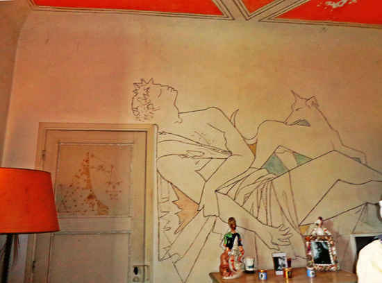 The House That Jean Cocteau Painted The Good Life France
