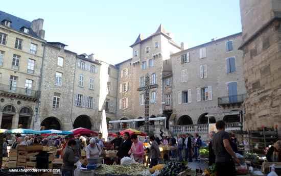 market Villefrance-de-Rouergue