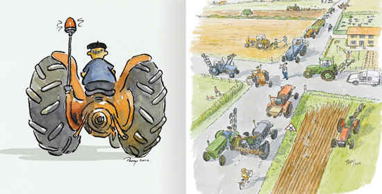French tractors