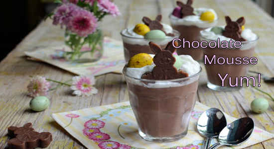 Chocolate-Mousse-easter recipe