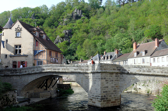 Aubusson-village-Limousin
