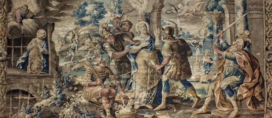 Aubusson Tapestry Town Limousin
