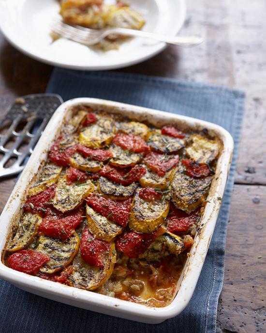 Provençal Vegetable gratin recipe