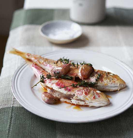 red mullet recipe france