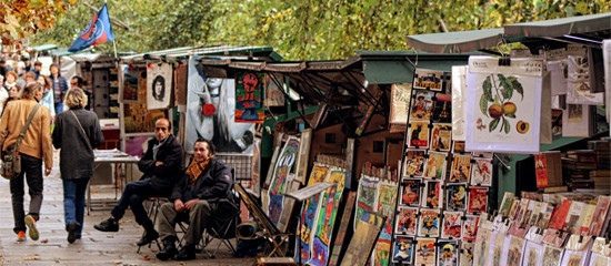 The Bouquinistes of Paris | The Book Sellers of the Seine