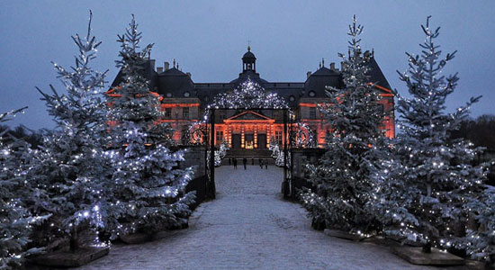 Chateau Vaux Le Vicomte Christmas 2015 The Good Life France
