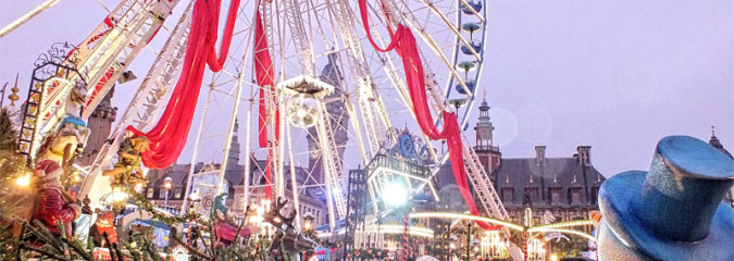 Lille Christmas market northern France
