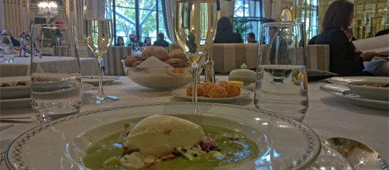 Exquisite and Affordable Dining at Peninsula Hotel Paris