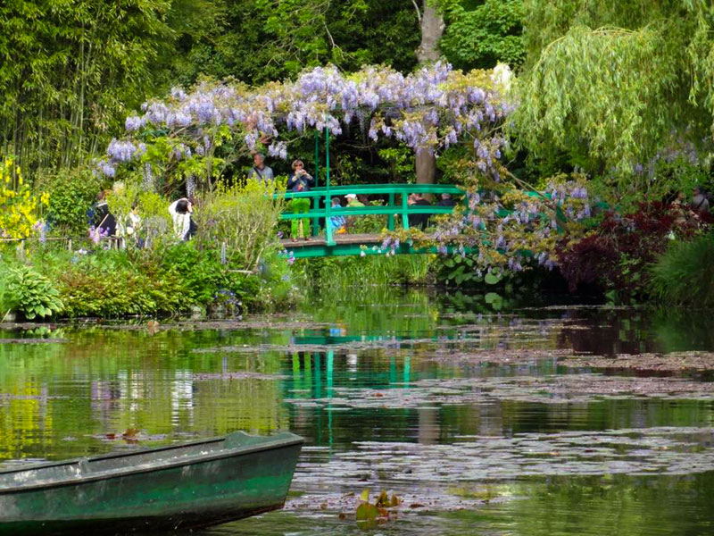 Monet Garden Giverny in Pictures : The Good Life France