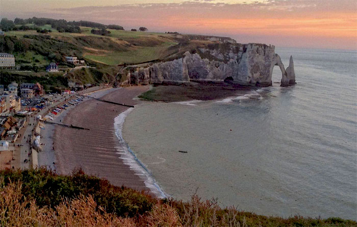 etretat-normandy-most romantic places in france