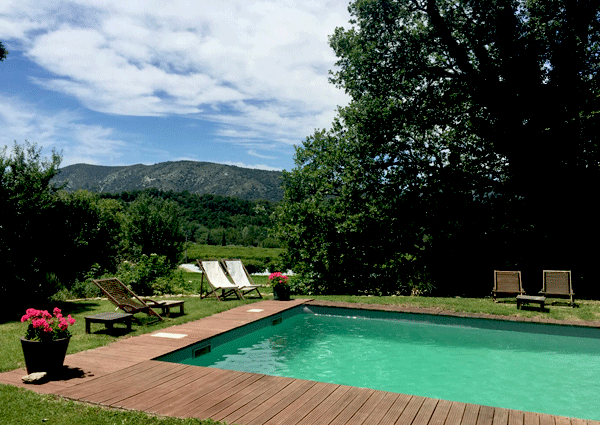 provence pool view