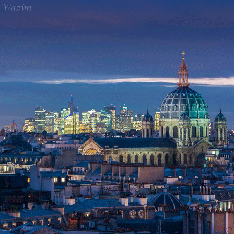 Where to get the best view of paris skyline the good life france paris skyline photo opp extraordinaire voltagebd Choice Image