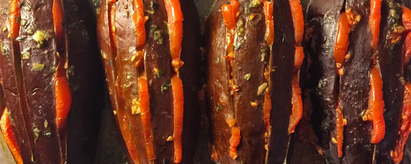 Recipe From Provence For Aubergines With Anchovies
