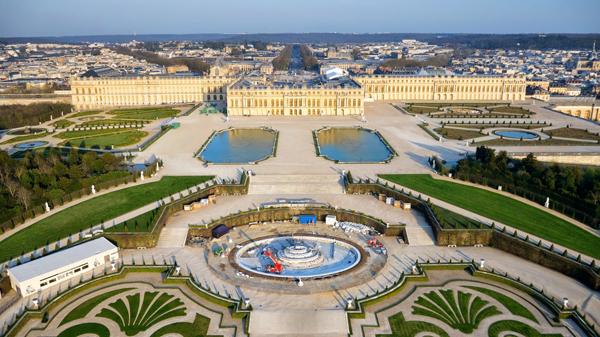 Os Jardins Do Palcio De Versalhes Pariscityvision