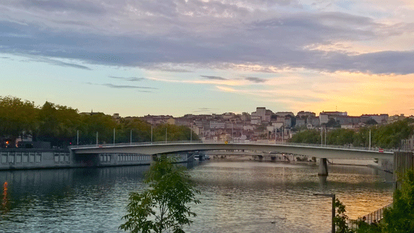 Lyon-at-sunset