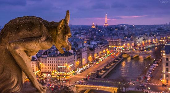 Amazing Paris At Night Video The Good Life France