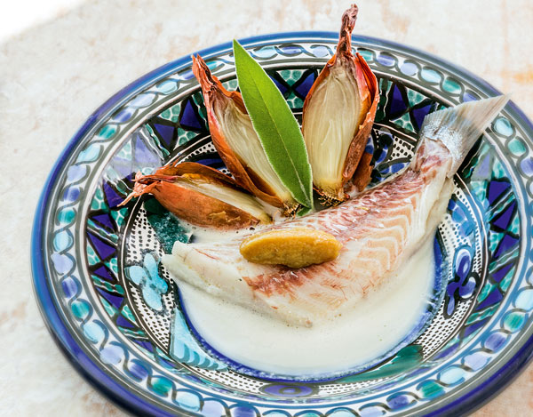 sea-bream-in-garlic-bouillon-Gerald-Passedat