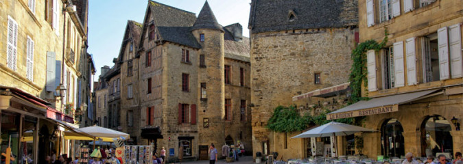 Sarlat Dordogne In Photos