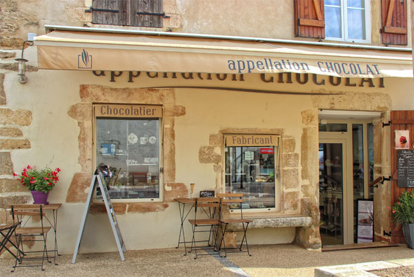 pommard-chocolate-shop-on-headwater-holidays-bike-tour
