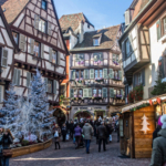 Postcard from Colmar Christmas Market Alsace
