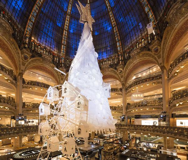 Decoration De Noel Galeries Lafayette Paris