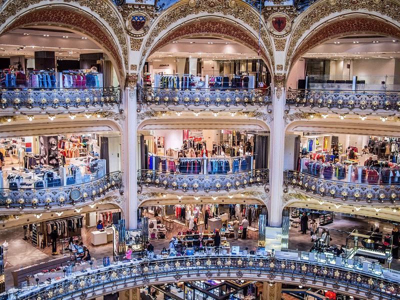 top ten paris galeries lafayette - Paris Must See