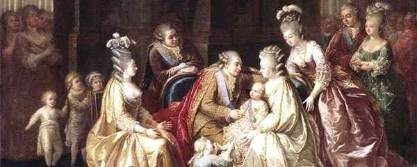 Queen Marie Antoinette and her adopted children