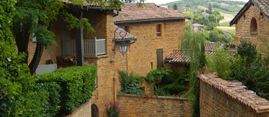 Oingt a gem of the Beaujolais area and day trip from Lyon