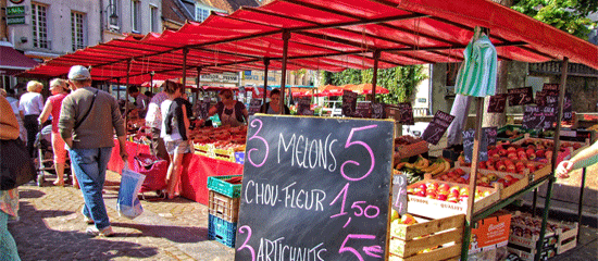 5 Marvellous Markets Near Calais