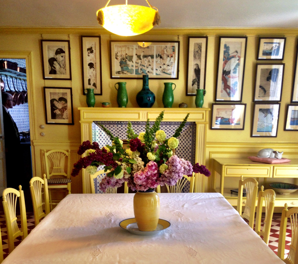 Inside Monetu0027s House Giverny