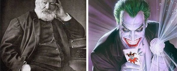 How Victor Hugo Inspired Batman's foe the Joker