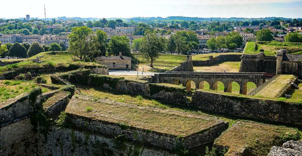 Citadel walls of Blaye
