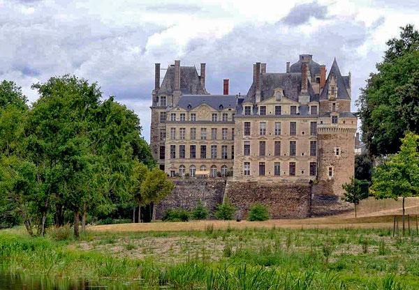 Facade of the chateau de Brissac