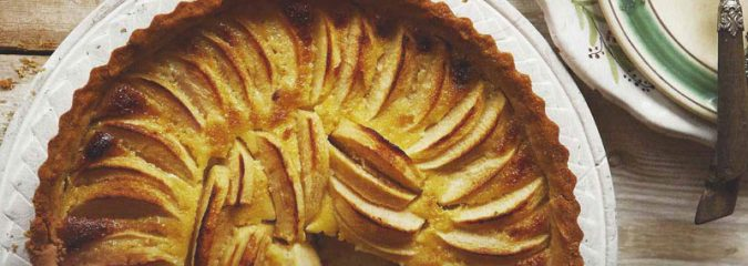 Apple Tart recipe like Maman used to make by Chef Daniel Galmiche