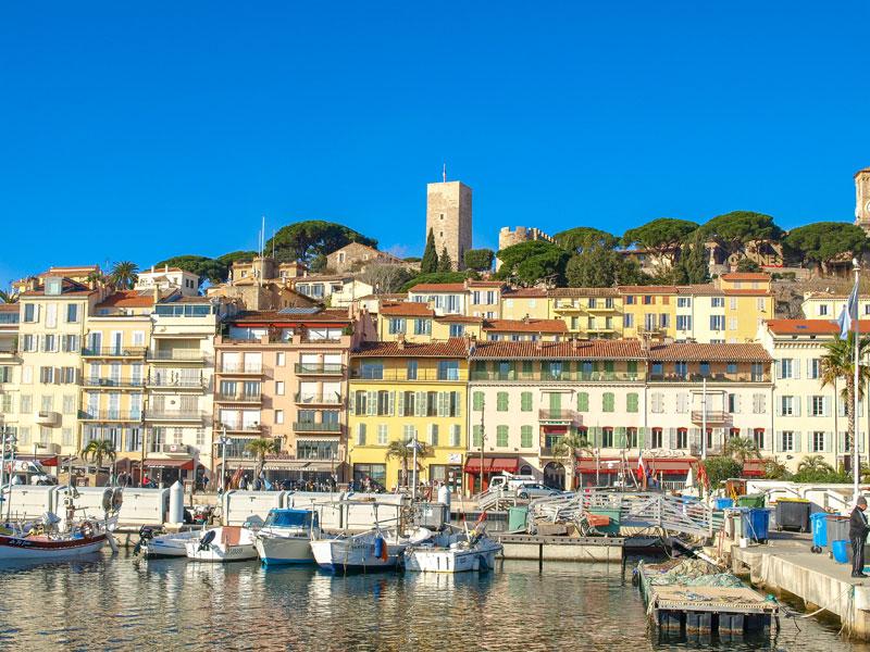 Cannes port France