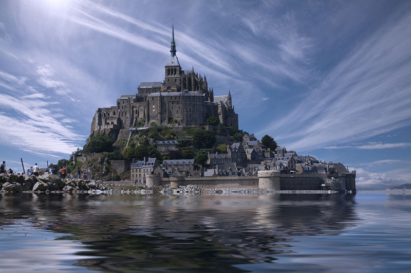Mont-Saint-Michel, an abbey built on an island and one of the best tours of Normandy