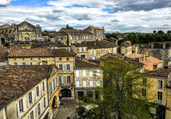 Rooftops of Saint Emilion