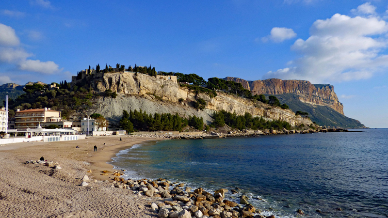 The tall cliffs of Cap Canaille, Cassis in Provence