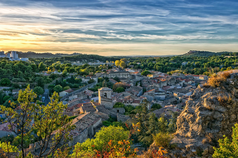 Provence in the fall