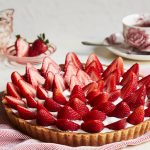 Recipe for Tarte aux fraises – Strawberry and cream pie