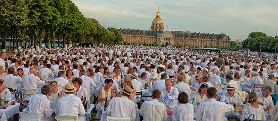Diner en Blanc in Paris 2018 in pictures