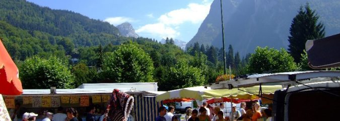 Samoens market | one of the best markets in the French Alps